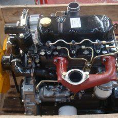 Двигатель в сборе Д2500 для погрузчика Balkancar / Новый двигатель болгарского погрузчика / трех цилиндровый двигатель в сборе