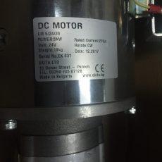 Электродвигатель в сборе DC 24V D-150 5.0kW/SW180-448L/20A8.2x110G Lohr F00250742 Электродвигатель в сборе DC 24V D-150 5.0kW/SW180-448L/20A8.2x110G Lohr F00250742 скотовозки HESSELMAN AB MADE IN SWEDEN