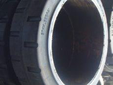 ШИНА МАСИВНАЯ 500/160-370 264032 6088.1 02.00.00 передние ЕВ 687, колесо литое , шина бандажная ( бескамерное )