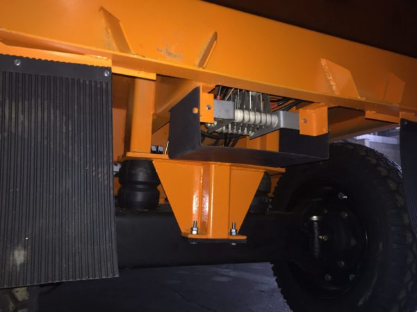 Электрокара ЕП 011, платформенная тележка 3 тонны