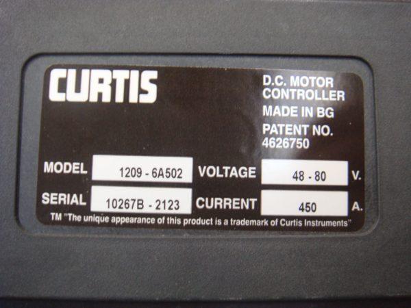 Импульсный регулятор хода Curtis 1209-6А502 , 5618928 , 1209-7202