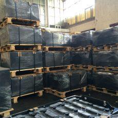 АКБ, Тяговая аккумуляторная батарея 48 V 6 PzSН 540 Ah ELHIM-ISKRA длина 960 мм, ширина 730 мм, высота 470 мм, Тяговая АКБ Кислотная 48 В 540 Ач
