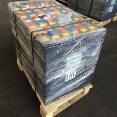 АКБ, Тяговая аккумуляторная батарея 48V4 PzSН 500Ah для EB698 размеры 827х629х627, АКБ 48В 5PzS500