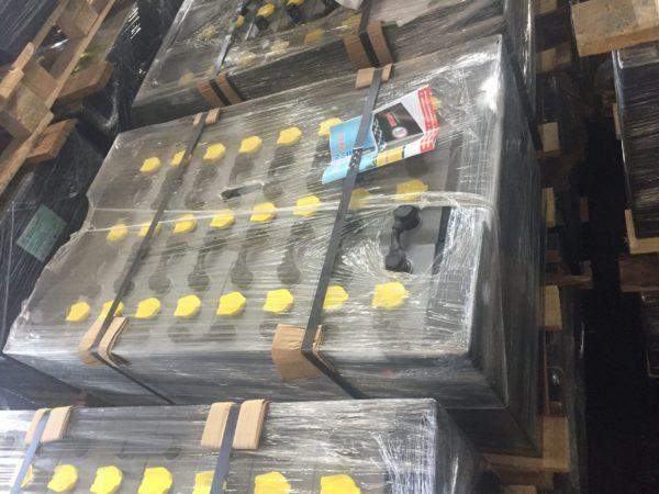 АКБ, Тяговая аккумуляторная батарея 48V 5PzSL 400 Ah ELHIM-ISKRA, Аккумулятор для погрузчика ТСМ FB 15-7 на гибких перемычках