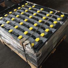 АКБ- Тяговая аккумуляторная батарея 2х40 V 5 PzS 350 Ah Elhim Iskra АКБ для погрузчика ЕВ 717, ЕВ 735, ЕВ 818 , Аккумуляторная батарея 2x40V 5PzS350Ah