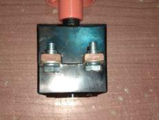 Аварийный выключатель на массу элетропогрузчика , электрокары 173247 4430010000 443250 4081, Переключатель аварийный ПА-160А РА 160/250А , выключатель