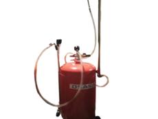 Установка для слива масла с подъёмной ванной 80 литров Osaka DG65115