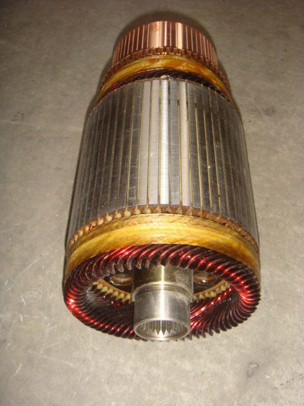 Ротор, якорь электродвигателя гидравлики ЕВ 687-735 ЕС 6.5/7.5/28